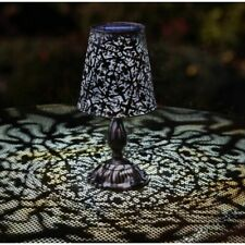 Solar Garden Light Unique Morrocan LED Lantern Table Lamp Decorative Outdoor New