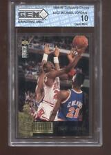 Michael Jordan 1995-96 UD Collectors Choice #JC2 Chicago Bulls GEM MINT 10
