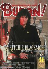 Burrn! Heavy Metal Magazine November 2015 Japan Ritchie Blackmore Motorhead