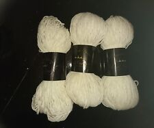 Plymouth Yarn Royal Cashmere 3 Skeins Colour: 8072 Ivory Cream