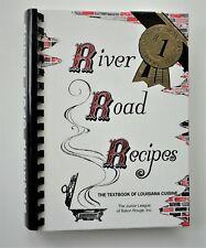 Unread 1993 River Road Recipes Textbook Louisiana Cuisine Jr League Baton Rouge