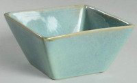 Java Dinnerware Z Gallerie Stoneware Java Blue Square Salad, Soup or Cereal Bowl