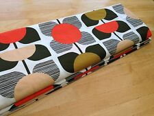 Roman Blind Orla Kiely Square Flower Interlined Self Locking Chain Track MTM