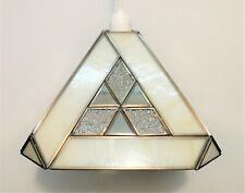 Tiffany Style Pendant Ceiling Light Shade Square Symmetrical