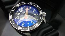 VINTAGE Seiko Divers 7002 elevern Big Quadrante NUMERATO blue vetro zaffiro K85
