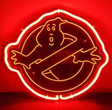 "SB021 Ghostbusters Movie cinema bar beer pub shop Decor Neon Light Sign 10""x12"""