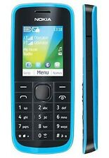 Genuine Nokia 114 Dual Sim Cyan Blue New Mobile with Warranty.