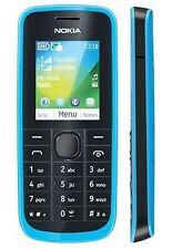 Genuine Nokia 114 Dual Sim Blue New Mobile with Warranty.
