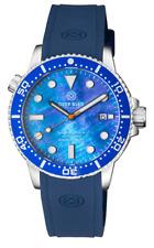 Deep Blue MASTER 1000 II 44MM CERAMIC BEZEL BLUE MOP DIVER AUTO WATCH