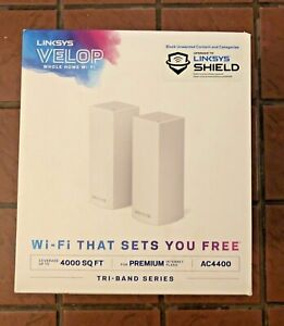 Linksy's Velop AC4400 Whole Home Mesh Wi-Fi System - ONE ONLY - NEW IN CARTON