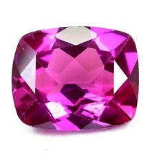 AAA+20.40 Ct Natural Pink Pyrope Garnet AGSL Certified STUNNING Cushion Gemstone