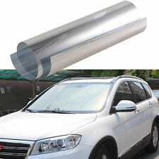 """20"""" x 10FT Scratch Resistant Reflective Side Rear WINDOW TINT FILM Shad For Car"""