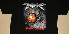 Dragonforce Inhuman Rampage 2006 Tour World Map Logo Shirt NEW XL