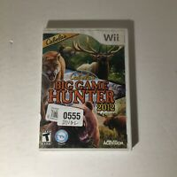 Cabela's Big Game Hunter 2012 (Nintendo Wii, 2011) COMPLETE AND TESTED