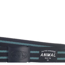 ANIMAL MENS  BELT.CALIX Bottle Opener BLACK WEBBING TROUSERS JEANS STRAP 7W 2 02