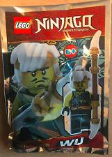 SACHET POLYBAG LEGO MINIFIGURE FIGURINE NINJA NINJAGO NEUF SENSEI WAITRE WU
