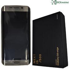 NUOVO CON SCATOLA Samsung Galaxy S6 EDGE 128GB sm-g925f GOLD PLATINUM LIMITED EDITION SIMFREE
