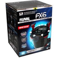 FLUVAL FX4 AND FX6 EXTERNAL CANISTER POWER FILTER INC MEDIA  FISH TANK AQUARIUM