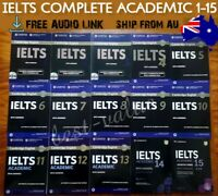 IELTS BOOKS Cambridge Tests 1-15 Academic Whole Package + Answers + Audio Link