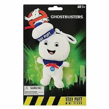 "GHOSTBUSTERS STAY PUFT HAPPY 4"" Plush Clip-on Sound Talking Doll Underground"