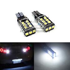 2x T15 Super White 9-30V 2835 800LM CANBUS LED Back Up Bulbs 921 Reverse Light