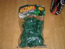 """PLASTIC SOLDIERS - INFANTRY, BAG OF TOY SOLDIERS, Size: 1.75"""" - 2"""" Inches Tall"""