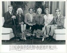 Spiegeleier TV Mary Martin W Sohn L Hagman Tochter H Halliday Presse Foto