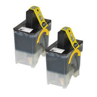 2PK LC41BK for Brother LC41 BLACK Ink Cartridge MFC-240c MFC-440 440CN DCP-330c