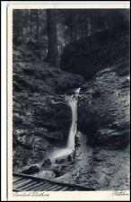 Tambach Dietharz  Postkarte ~1920/30 Partie am Röllchen Wasserfall Waterfall AK