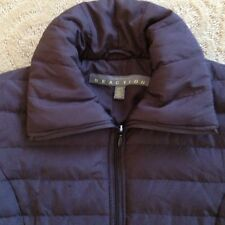 KENNETH COLE REACTION Brown Puffy Down Jacket Woman's Size S