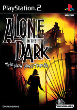 Alone in the Dark-the New Nightmare (Sony PlayStation 2, 2001, DVD-box)