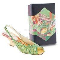 Just The Right Shoe Raine NEW LEAF 25595 2006 NIB