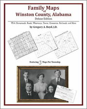 Family Maps Winston County Alabama Genealogy AL Plat