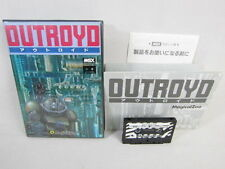 Msx Out Royd Cassette Version Import Japon Video Game 1306 Msx
