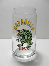 Karbach Brewing Company Hopadillo IPA Can Shapped 16 ounce Beer Glass Houston TX