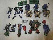 Warhammer Chaos Space Marine Bike squad, dreadnought,