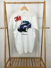 VTG 90s Fruit Of The Loom 3M Automative Refreshing Products 50/50 T-Shirt XL USA
