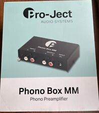 Pro-Ject Phono Box MM.  Phono/Pre-Amp (MM).  VGC.  Fully Tested & Working.