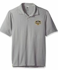 Adidas Men's Houston Dynamo Soccer Gray Polo Jersey Extra Large XL MLS US