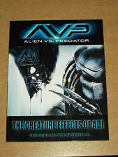 AVP ALIEN VS PREDATOR CREATURE EFFECTS OF ADI TITAN BOOKS 9781845760045