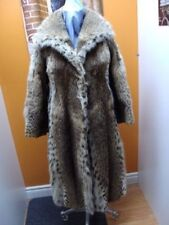 PRE-OWNED MONTANA LYNX FUR COAT WOMEN SIZE 4-6