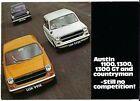 Austin 1100 & 1300 MkIII 1971-74 UK Market Brochure De Luxe Super GT Countryman
