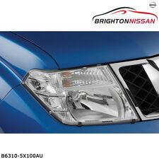 New Genuine Nissan D40 Navara Protectors-Headlamp P/N: B63105X100AU RRP $107