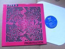 PLAN 9,FRUSTRATION lp m-/m- voxx records VXS 200.007 USA 1995