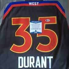Kevin Durant Signed Warriors All Star Authentic Swingman Jersey BAS Beckett COA
