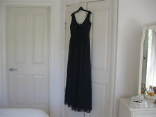 Weddings & Special Occasion  Long Dress Size 12 Midnight  No Sleeves Lined.