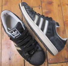 Adidas Originals Adicolor Superstar II Black w White Details Men's UK 11 EUR 46