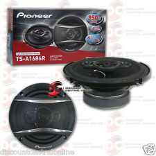 "PIONEER TS-A1686R 6.5"" CAR AUDIO 4-WAY COAX COAXIAL SPEAKERS (PAIR)"