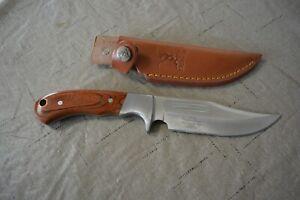 Elk Ridge Custom Design  Knife No. BR-052 Knife with Sheath