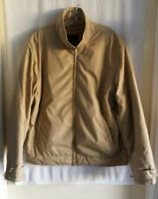 Zara Man Tan Polyester Winter Jacket Large XL per Tag